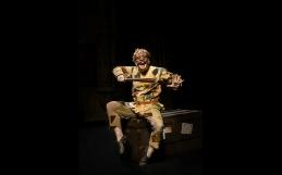 Maschere Sartori per l'Arlecchino diretto da Giorgio Sangati