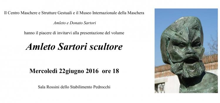 """Presentazione del volume """"Amleto Sartori scultore"""""""