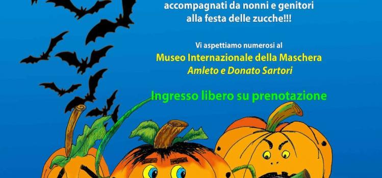 Domenica 30 ottobre   Laboratorio Festa delle Zucche!